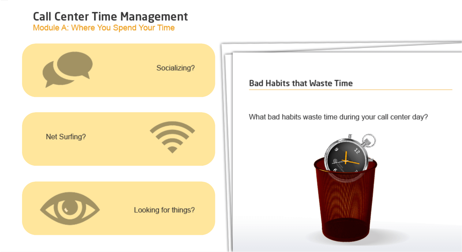 Call Center Time Management