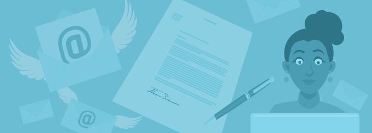 Brief und E-Mail im Kundenservice
